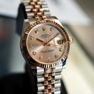 Rolex Datejust Everose Rolesor Pink Diamond 31 mm REF.178271 (02/2016)