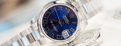 Rolex Datejust Blue Roman Dial Boy Size 31 mm REF.178240 (NEW 10/2019)