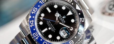Rolex GMT-Master II Black Dial Black Blue Ceramic REF.116710BLNR (Batman) (08/2016)