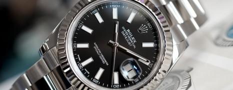 Rolex Datejust II WG Bezel Black Dial 41 mm Ref.116334 (11/2015)