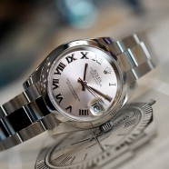 Rolex Datejust Pink Roman Dial Boy Size 31 mm REF.178240 (05/2016)