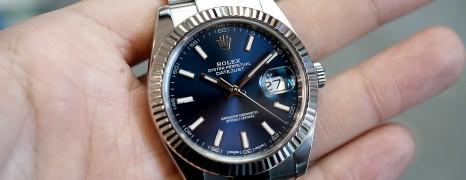 Rolex Datejust 41 WhiteGold Bezel Blue Dial 41 mm Ref.126334 (Thai AD 09/2017)