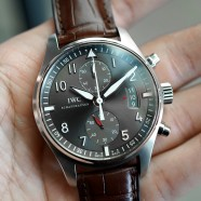 IWC IW3878 Pilot's Watch Spitfire Flyback Chronograph 43 mm (Pendulum 2012)