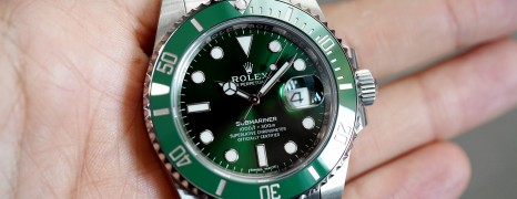 Rolex Submariner Date Green Ceramic 116610LV 40 mm (The Hulk) 2017