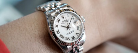 Rolex Datejust Lady White Roman Dial 26 mm Ref.179174 (Thai AD NOS)