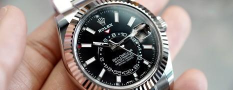 NEW!! Rolex Sky-Dweller Black Dial 42 mm Ref.326934 (NEW 07/2019)