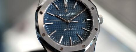 AP Audemars Piguet Royal Oak Blue Dial 41 mm REF.15400ST.OO.1220ST.01 (05/2015)
