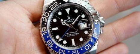 Rolex GMT-Master II Black Dial Black Blue Ceramic REF.116710BLNR (Batman) (04/2019)