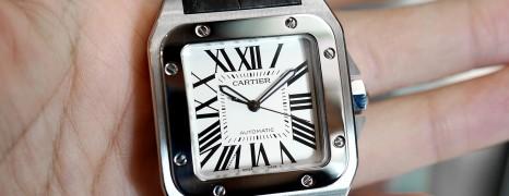 Cartier Santos 100 XL (Discon Model) 09/2016