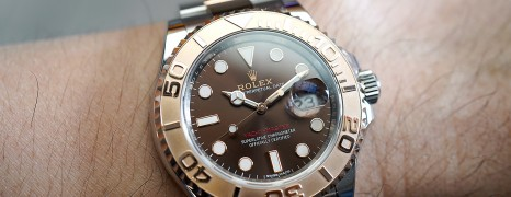 Rolex Yacht-Master 40 Everose Gold Chocolate Dial 40 mm Ref.116621 (05/2018)