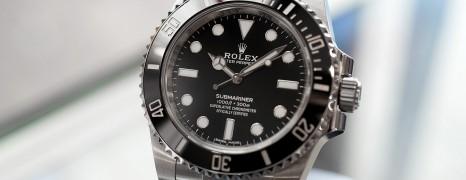Rolex Submariner No Date Ceramic Ref.114060 40 mm (04/2018)