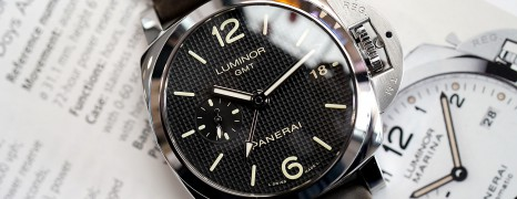 Panerai 535 Luminor 1950 Auto 3 Days GMT 42 mm S.Q (10/2014)