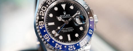 NEW!! Rolex GMT-Master II Black Blue Ceramic Jubilee 40 mm Ref.126710BLNR (Batman)(01/2020)