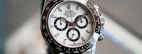 NEW!!! Rolex Cosmograph Daytona Ceramic White Dial 40 mm Ref.116500LN (Thai AD 12/2019)
