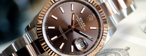 NEW!! Rolex Datejust 41 2K Rosegold Chocolate Dial 41 mm Ref.126331 (New Thai AD 11/2019)