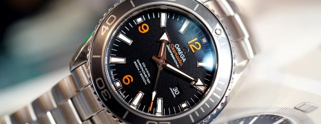 Omega Seamaster Planet Ocean Automatic Co-Axial 8520 Black Ceramic 37.5 mm