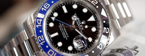 Rolex GMT-Master II Black Dial Black Blue Ceramic REF.116710BLNR (Batman) (08/2017)