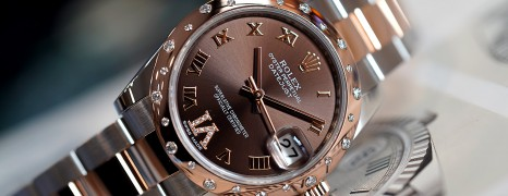 Rolex Datejust Everose Rolesor Chocolate VI Diamond 31 mm REF.178341 (05/2018)