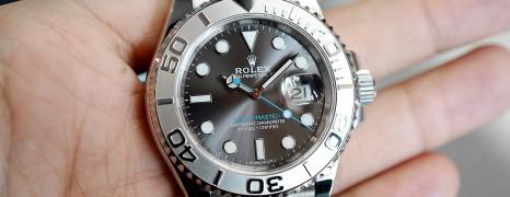 Rolex Yacht-Master Dark Rhodium Dial 40 mm Ref.116622 (07/2019)