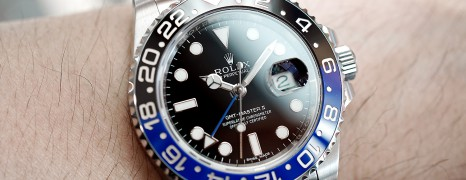 Rolex GMT-Master II Black Dial Black Blue Ceramic REF.116710BLNR (Batman) (Thai AD 11/2015)