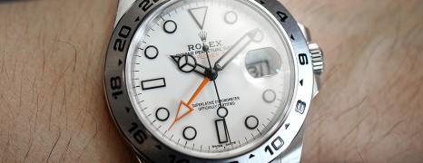 Rolex Explorer II Orange Hand White Dial 42 mm Ref.216570 (11/2018)
