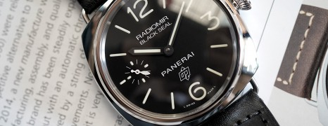 NEW!! Panerai 380 Radiomir Black Seal 45 mm S.T (New Thai AD 01/2020)