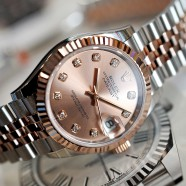 NEW!! Rolex Datejust Everose Rolesor Pink Diamond 31 mm REF.278271 (Thai AD 02/2020)