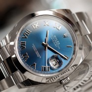 NEW!! Rolex Datejust 41 Blue Dial 41 mm Ref.126300 (Full Sticker 10/2019)