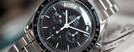 NEW!! Omega Speedmaster MoonWatch Professional Chronograph 1861 Black Dial 42 mm (02/2020)