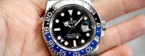 Rolex GMT-Master II Black Dial Black Blue Ceramic REF.116710BLNR (Batman) (05/2019)