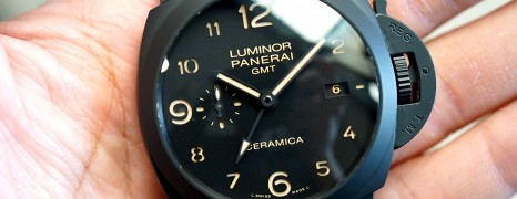 Panerai 441 Luminor 1950 3 Days GMT Automatic Ceramica 44 mm S.Q 10/2014