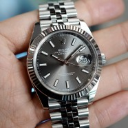 Rolex Datejust 41 Jubilee Dark Rodium Dial 41 mm Ref.126334 (Thai AD 08/2019)