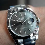NEW!! Rolex Datejust 41 Dark Rodium Dial 41 mm Ref.126300 (Thai AD 01/2020)