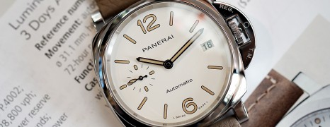 Panerai 1043 Luminor Due 3 days Automatic 38 mm (New Thai AD 02/2020)