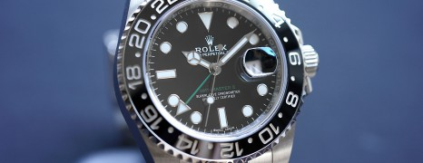 Rolex GMT-Master II Black Ceramic Green Hand 40 mm REF.116710LN (Thai AD 12/2018)