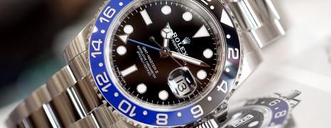 Rolex GMT-Master II Black Dial Black Blue Ceramic REF.116710BLNR (Batman) (02/2018)