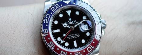 Rolex GMT-Master II Pepsi Jubilee 40 mm Ref.126710BLRO (Thai AD 02/2019)