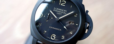 Panerai 441 Luminor 1950 3 Days GMT Automatic Ceramica 44 mm S.S (10/2016)