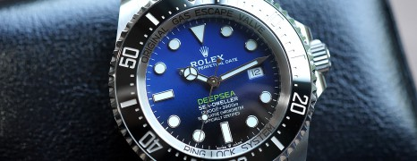 Rolex Sea-Dweller Deepsea D-Blue 44 mm Ref.126660 (Thai AD 07/2018)