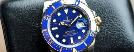 Rolex Submariner 2K Blue Dial Ceramic 40 mm Ref.116613LB (New Full Sticker 05/2018)