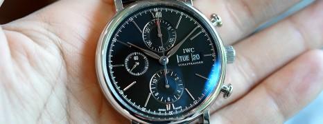 IWC Portofino Chronograph Black Dial 42 mm Ref.IW391008 (Thai AD 03/2019)
