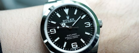 Rolex Explorer I 39 mm Ref.214270 (New Old Stock!! 07/2018)