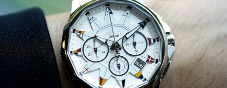 Corum Admiral's Cup Legend Chronograph White Dial 42 mm (Thai AD 03/2019)