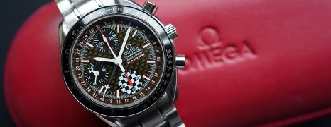 Omega Speedmaster Racing Michael Schumacher 2002 Limited 39 mm Ref.3529.50.00