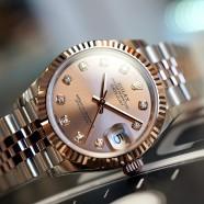NEW!! Rolex Datejust Everose Rolesor Pink Diamond 31 mm REF.278271 (New!! 05/2020)