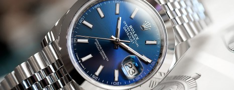 Rolex Datejust 41 Jubilee Blue Dial 41 mm Ref.126300 (07/2019)