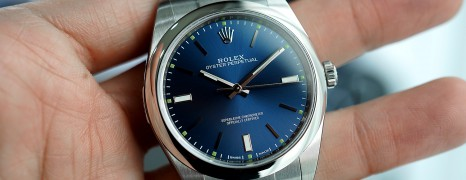 Rolex Oyster Perpetual Blue Dial 39 mm REF.114300 (NEW Thai AD 05/2019)