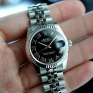 Rolex Datejust Jubilee Black Roman Dial 31 mm REF.178274 (Thai AD 07/2019)