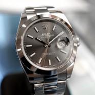 NEW!! Rolex Datejust 41 Dark Rodium Dial 41 mm Ref.126300 (Thai AD 10/2019)