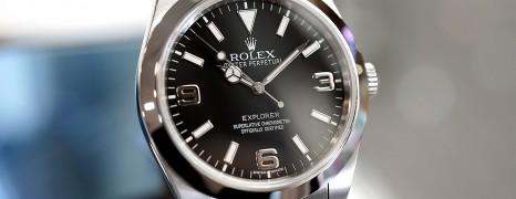 Rolex Explorer I 39 mm Ref.214270 (Thai AD 12/2010)